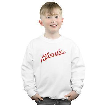 Blondie Boys Lines Logo Sweatshirt