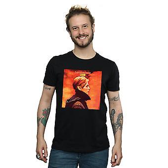 David Bowie mænds lave Album Cover T-Shirt