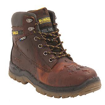 DEWALT tłustej skóry wodoodporne bezpieczeństwa Hiker buty. S3 SRA - tytan
