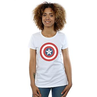 Marvel Women's Captain America Civil War Shield T-Shirt