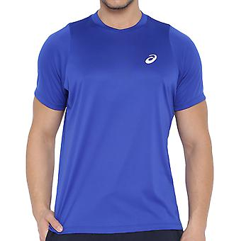 ASICS MotionDry Mens Club Tennis korte mouw bemanning hals T-Shirt Tee Top