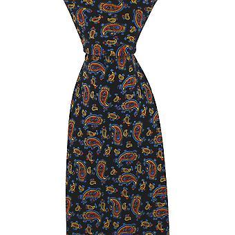 David Van Hagen Vintage stropdas - zwart
