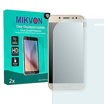 Samsung Galaxy J7 (2017) Screen Protector - Mikvon Clear (Retail Package with accessories) (reduced foil)