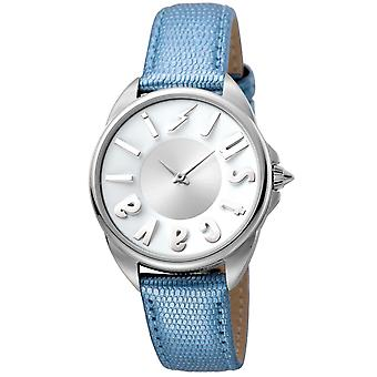 Just Cavalli women's brand watch with Silver buckle