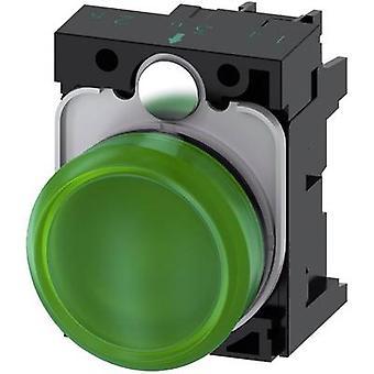 Indikatorlyset planar Green 24 V AC, 24 Vdc Siemens SIRIUS ACT 3SU1102-6AA40-1AA0 1 eller flere PCer