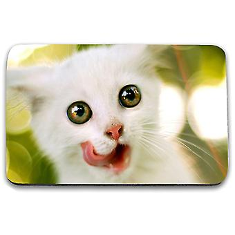 i-Tronixs - Cat Printed Design Non-Slip Rectangular Mouse Mat for Office / Home / Gaming - 7