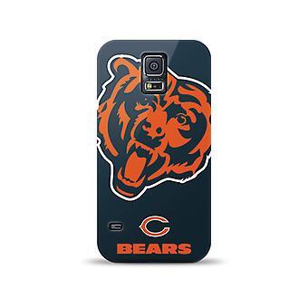 Mizco Sports NFL Oversized Snapback TPU Case for Samsung Galaxy S5 (Chicago Bear