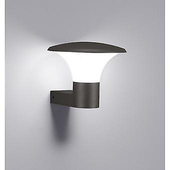 Trio Lighting Kongo Modern Anthracite Diecast Aluminium Wall Lamp