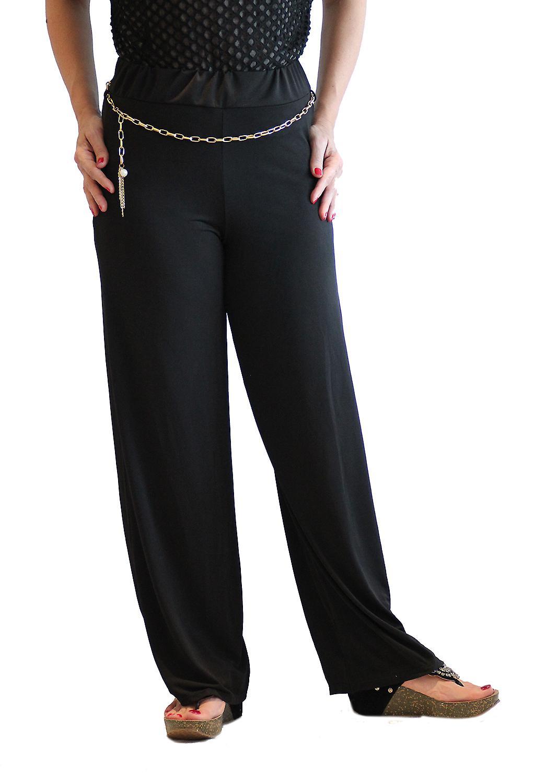 Waooh - Fashion - bred bukser og gull belte