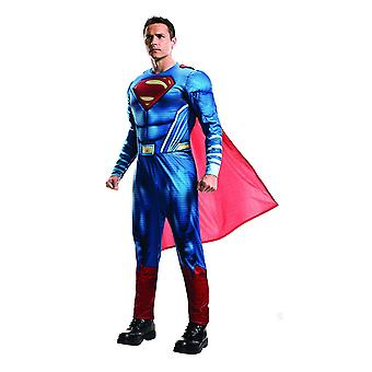 Superman superhero costume from the film dawn of Justice adult costume
