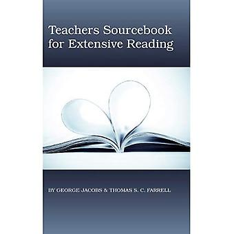 Teachers Sourcebook for Extensive Reading