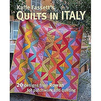 Courtepointes de Kaffe Fassett en Italie: 20 dessins de Rowan pour le Patchwork et Quilting