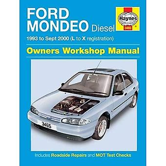 Ford Mondeo Diesel Service and Repair Manual: 1993 to 2000 (Haynes Service and Repair Manuals)