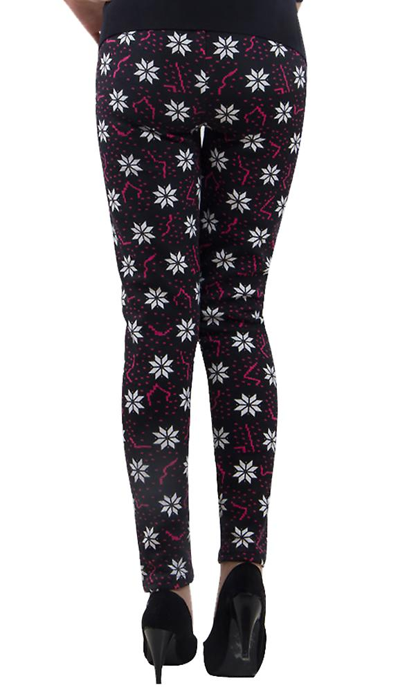 Waooh - Winter Legging pattern snowflakes Ossa