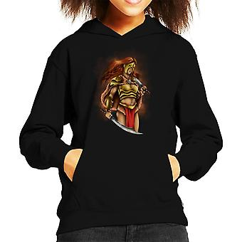Warrior Queen Kid's Hooded Sweatshirt