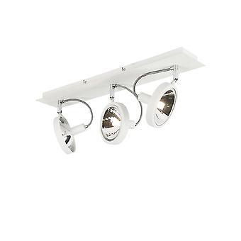 QAZQA proyector moderno 3 blanco - Nox