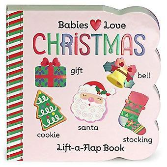 Christmas: Chunky Lift a Flap Board Book (Babies Love) [Board book]