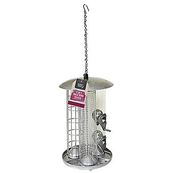 Naturen Markt BF038 Deluxe 3 in 1 Metall wilde Mutter Vogelfutter & Talg Fette Kugel Feeder