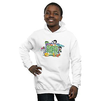 DC Comics Boys Teen Titans Go Sweet Tooth Hoodie