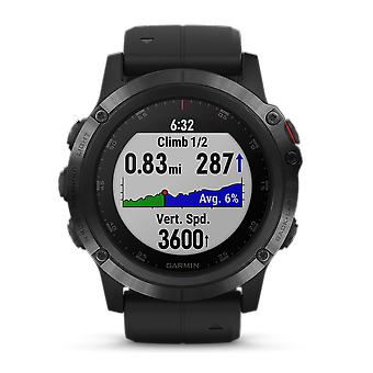 Garmin Fenix 5X Plus Black Mens Smartwatch 010-01989-01 51mm