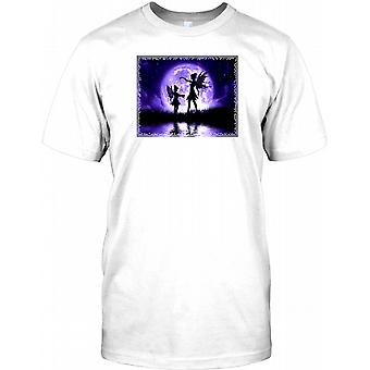 Fairies In The Moonlight - Surreal Fantasy Kids T Shirt