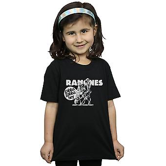 Chicas de Ramones Gabba Gabba Hey de la historieta t-shirt