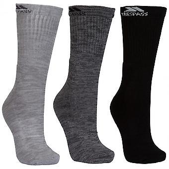 Utro Mens Jackbarrow midten av lengden 3 Pack gå sokker