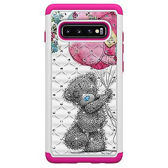 Samsung Galaxy S10 + TPU coque armure supplémentaire Durable-ours