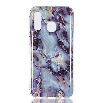 MTK Samsung Galaxy A40 TPU mármol-estilo K