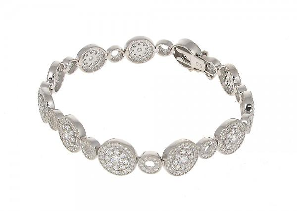 Cavendish French Just Sparkle Sterling Silver Bracelet