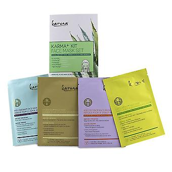 Karuna Karma+ Kit Face Mask Set 4sheets