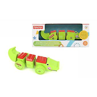 Fisher Price - My First Wiggly Crocodile On Wheels