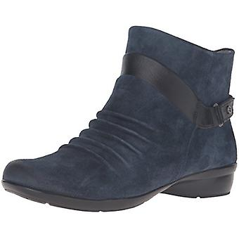 Naturalizer Womens Caldo Leather Round Toe Ankle Fashion Boots