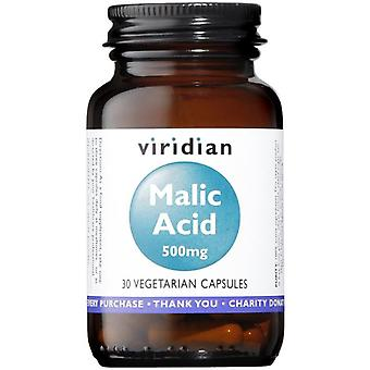 Viridian Malic Acid 500mg veg CAPS 30 (370)