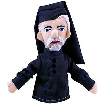 Finger Puppet - UPG - Geoffrey Chaucer Mini Soft Plush Doll New 3918