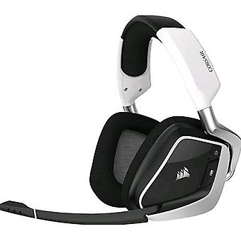 Corsair void pro rgb wireless dolby 7.1 gaming headset with white color microphone