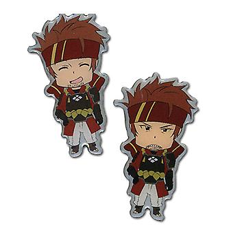 Pin Set - Sword Art Online - Happy/Angry Klein New Anime Licensed ge50063