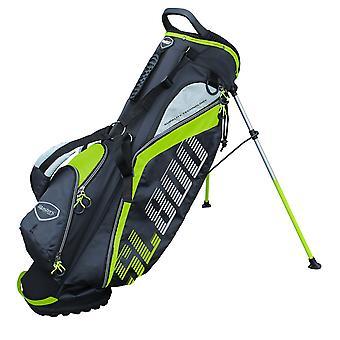 Masters SL800 SupaLite Golf carry stand taske sort/lime