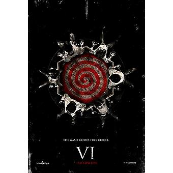 Saw Vi / Saw 6  Double Sided Us One Sheet (2009) Original Cinema Poster