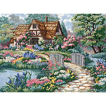 Cottage Retreat Needlepoint Kit 16