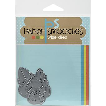 Paper Smooches Die-Single Rose A2D256