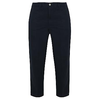 Harbour Bay Navy Chino Trousers- TALL