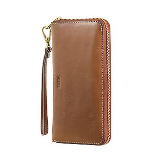 FOSSIL ladies wallet purse coin purse with RFID-chip protection Brown 4798