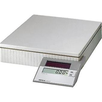 Parcel scales Maul MAULparcel S 50 Weight range 50 kg Readability 10 g, 50 g solar-powered Grey