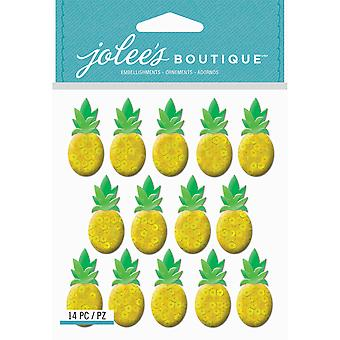Jolee's Boutique Dimensional Stickers-Pineapple E5021950