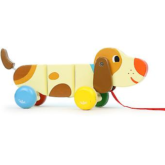 Vilac Basile The Dog Pull-Along Toy