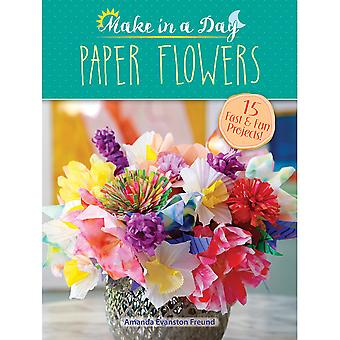Dover Publications-Make In A Day Paper Flowers DOV-10867