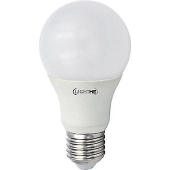 LED (monochrome) LightMe 230 V E27 10 W = 60 W Warm white EEC: A+ Arbitrary (Ø x L) 60 mm x 110 mm dimmable (Varilux) 1