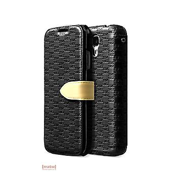 Zenus Masstige Love Craft Diary leather case for Samsung Galaxy S4 i9500 black