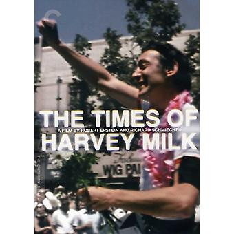 Times of Harvey Milk [DVD] USA import
